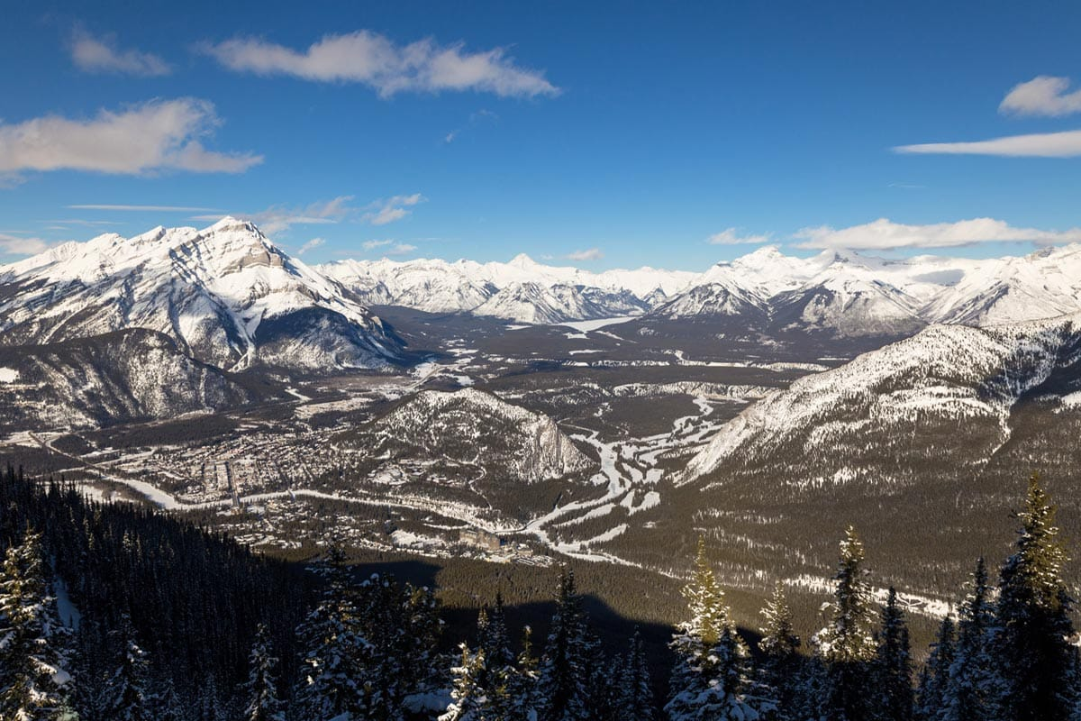 Views from the Banff Gondola