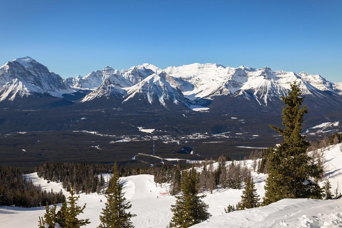 View from Lake Louise Ski Resort