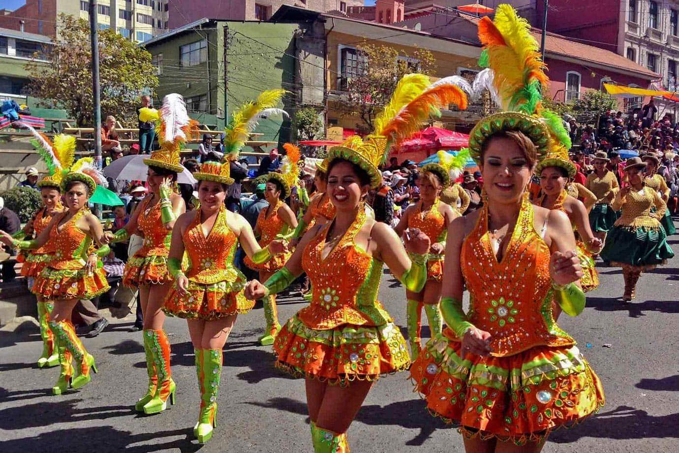 Costumes at La Fiesta del Gran Poder