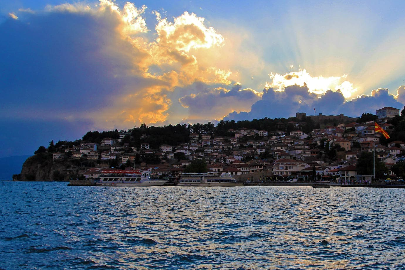 Lake Ohrid is thought to be well over three million years old