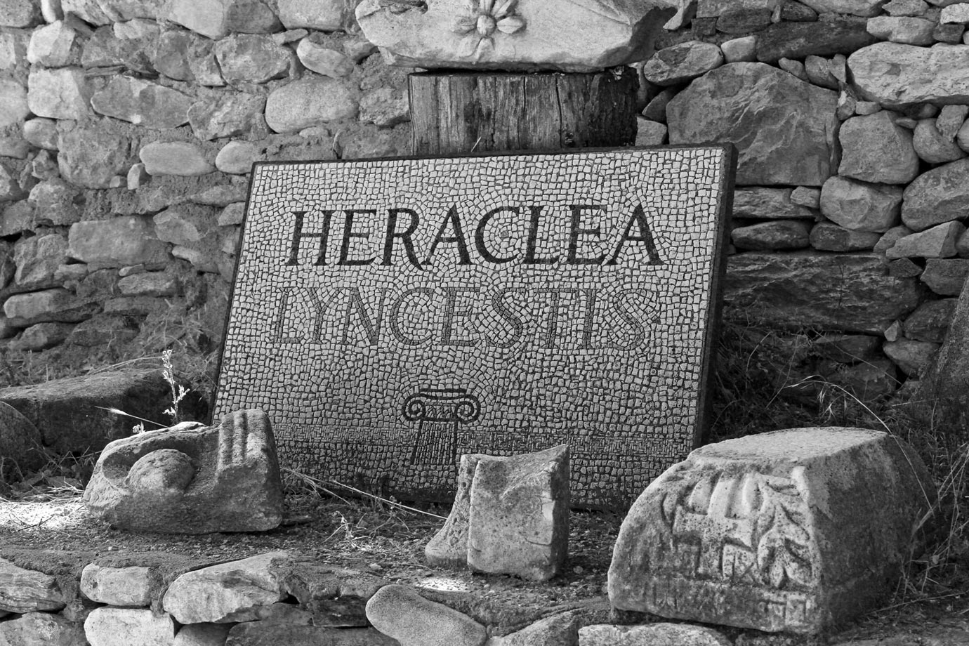 Heraclea Lyncestis is 2km south of Bitola in Macedonia
