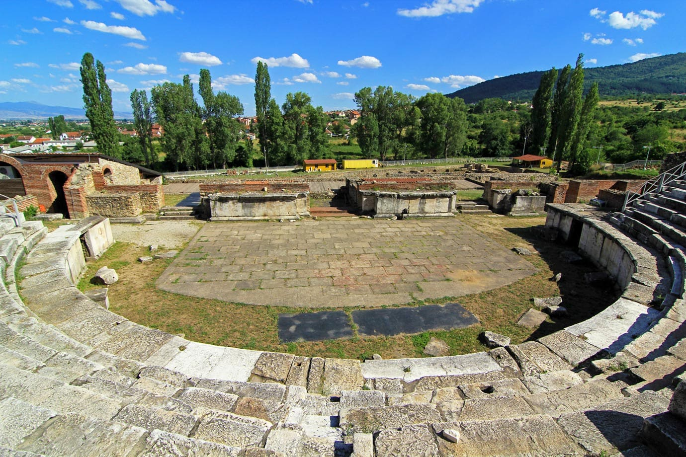 The real eye-draw of the ancient city is the theatre built by Emperor Hadrian