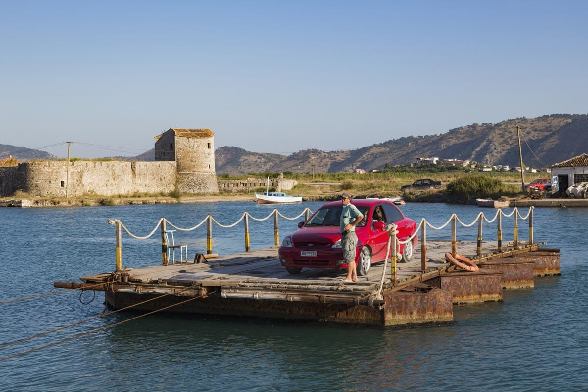 getting to butrint national park