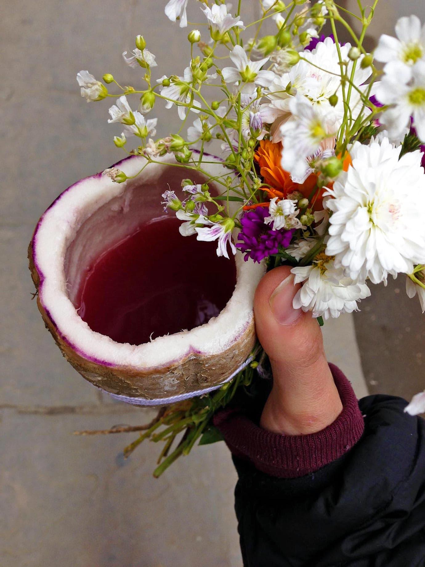 Fermented Grape Juice for Corpus Christi