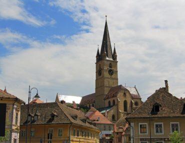 Sightseeing in Sibiu, Romania