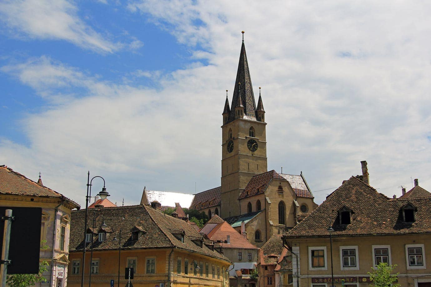 Sightseeing in Sibiu, Romania