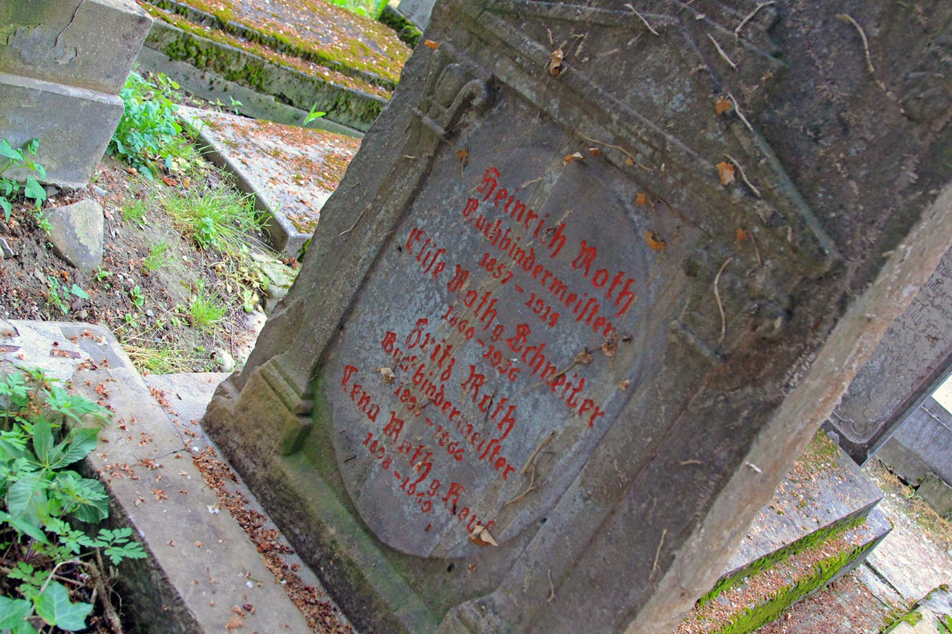 The cemetery at Sighisoara