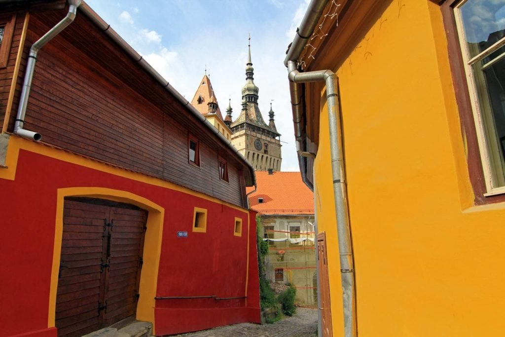 The Colours of Sighisoara