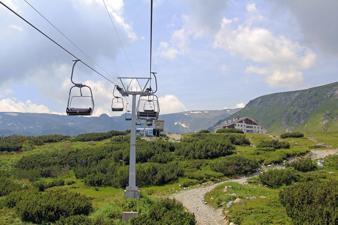 lift to seven rila lakes