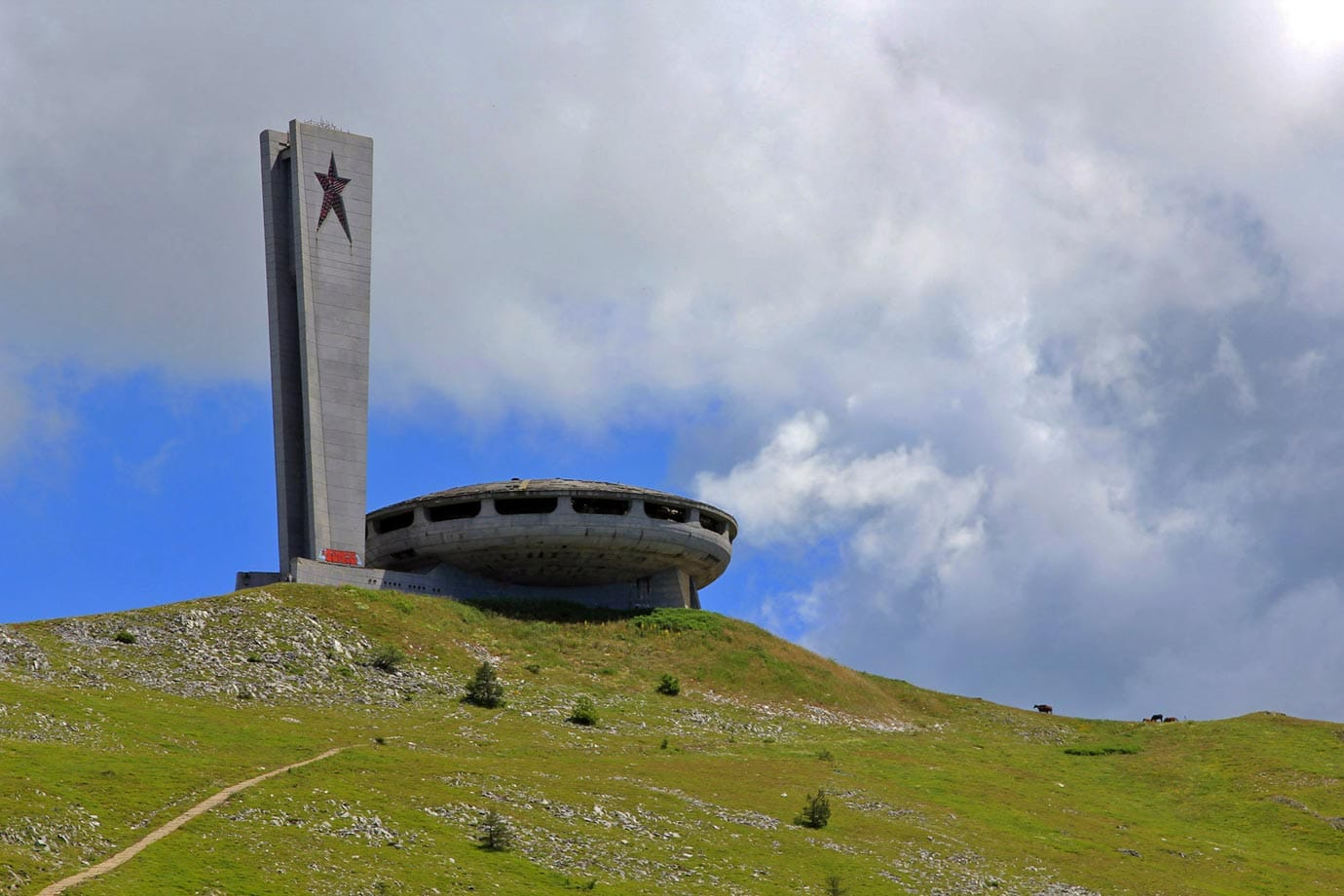 Do you think Buzludzha looks like a flying saucer?