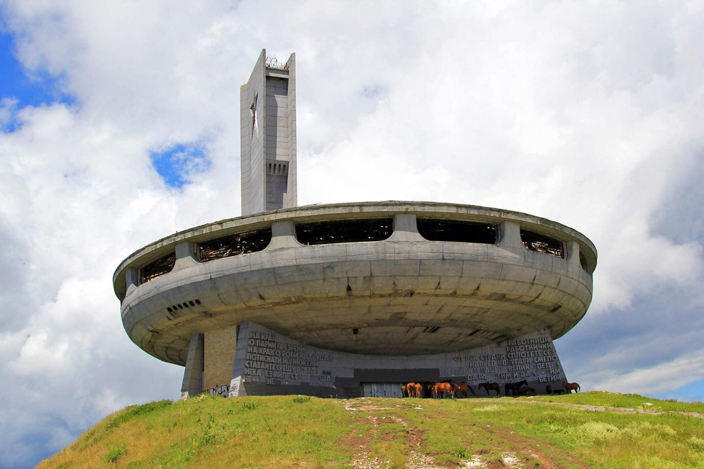 Buzludzha was one of the most extravagant monuments I have ever seen