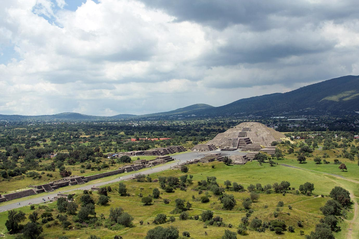 Teotihuacán was once the largest Pre-Colombia city in all of the Americas