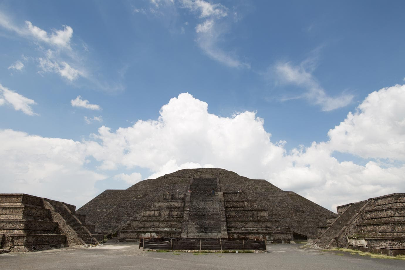 The Pyramid of the Moon at Teotihuacan