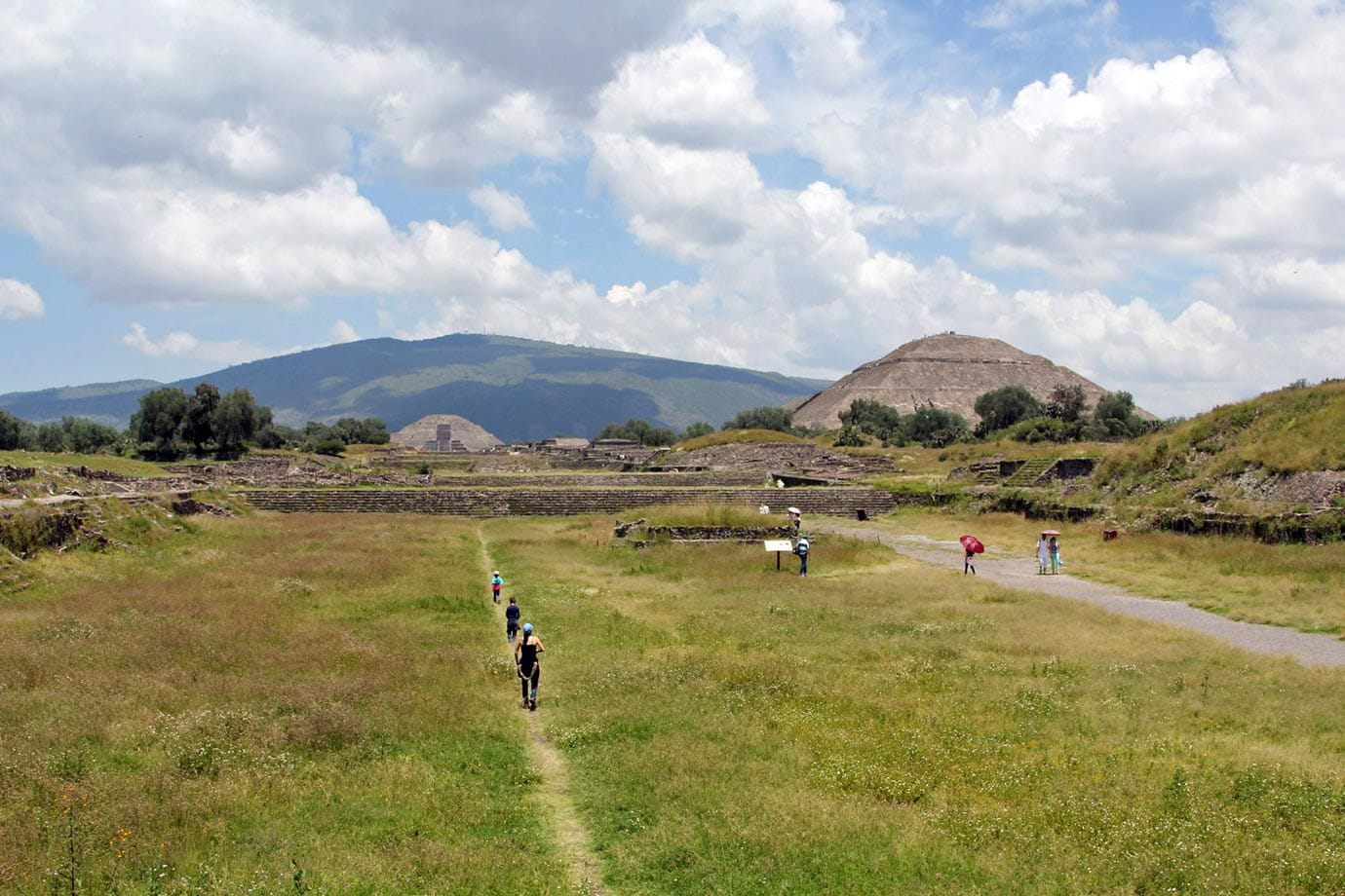 The Pyramids of Teotihuacan are the perfect place to spend a day away from Mexico City