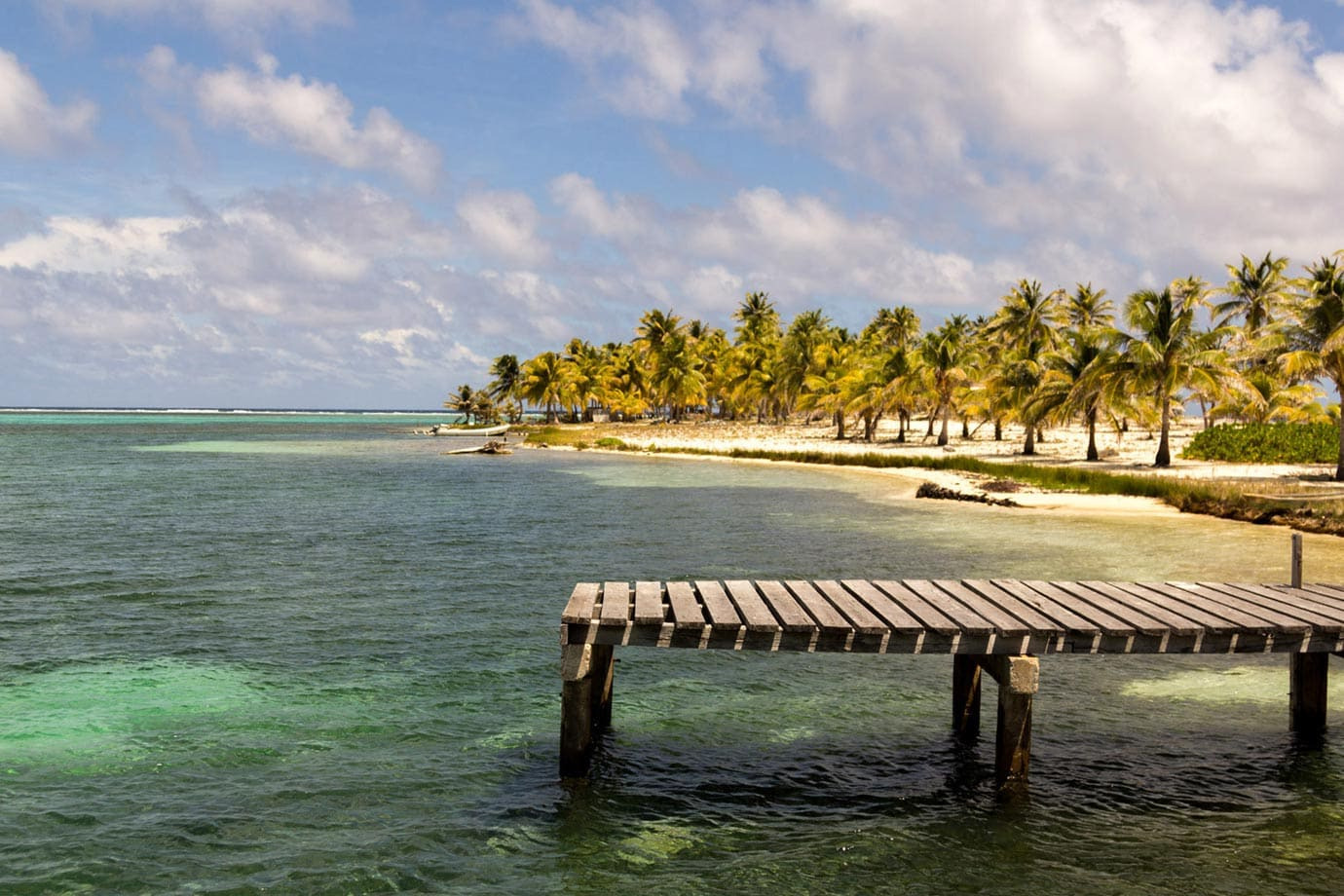 Long Caye, 40kms off the coast of Belize, was simply stunning