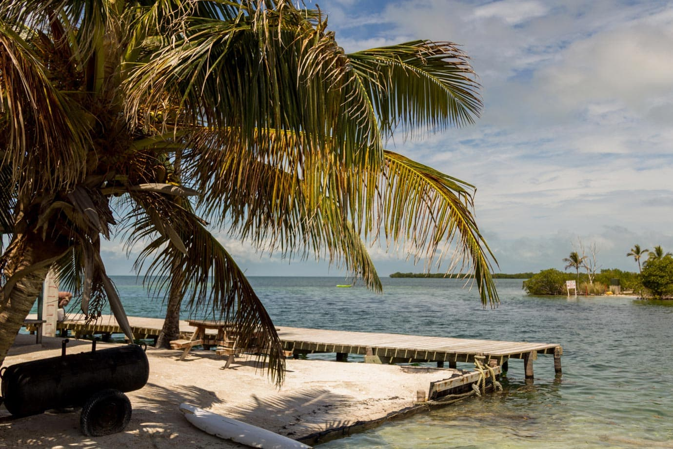 Caye Caulker is a paradise island