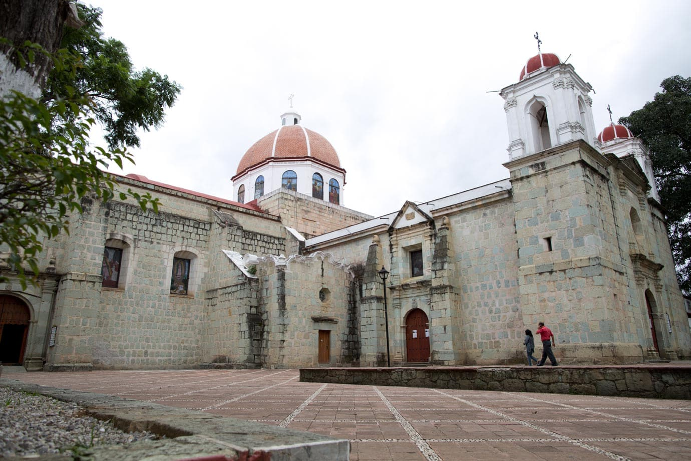 A church just off the Central Plaza