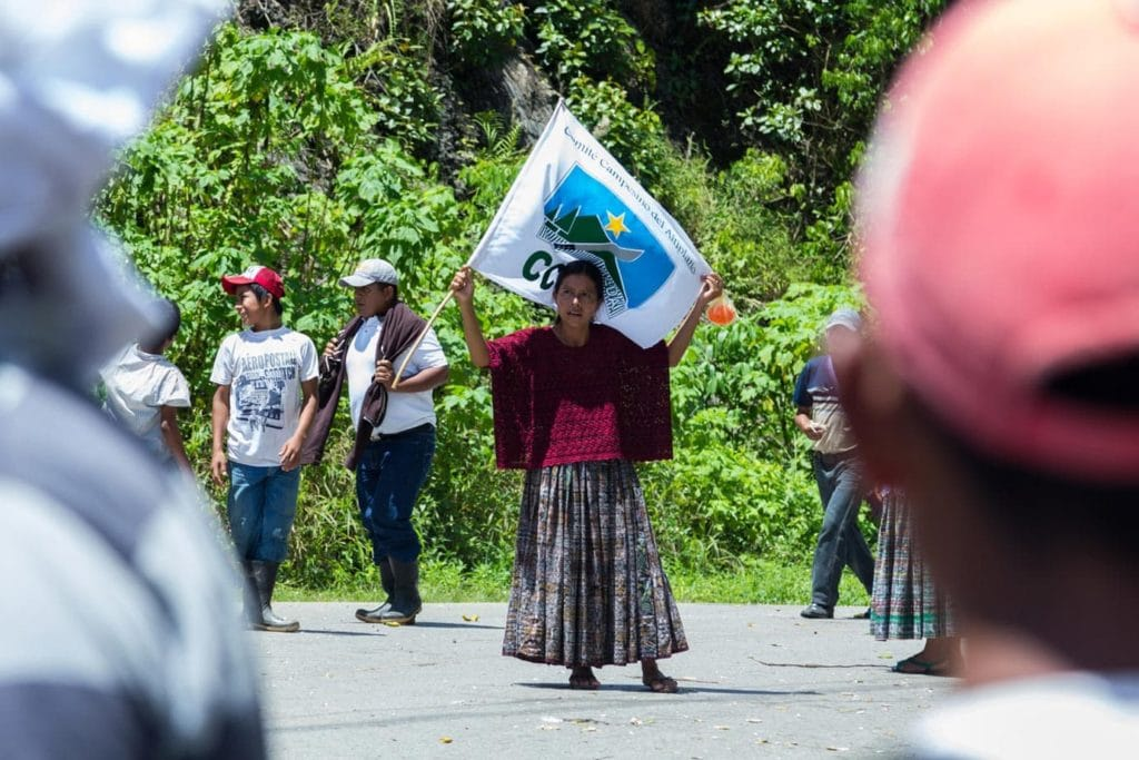 A Guatemalan Protest; Maize, Magic and Memories