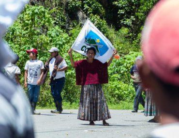 A Guatemalan Protest; Maize, Magic and Memories