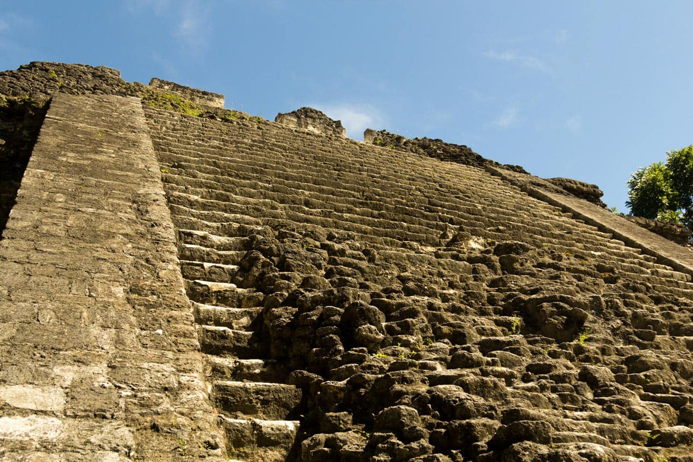 It is easy to forget that there are thousands of ruined structures within Tikal