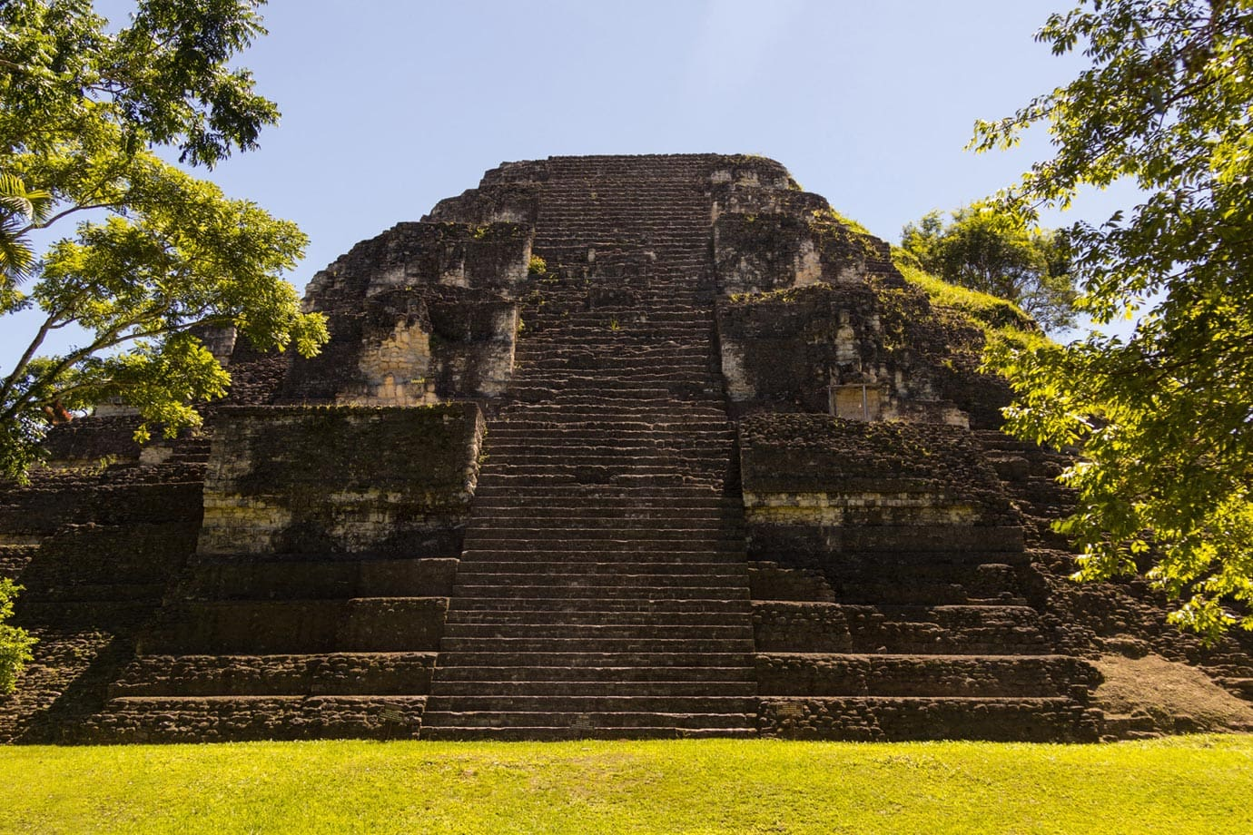 From 250BC to 700AD, Tikal became an extremely important city in Central America
