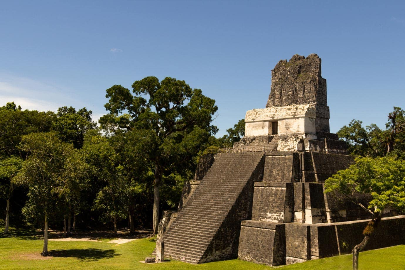 Taking in Tikal