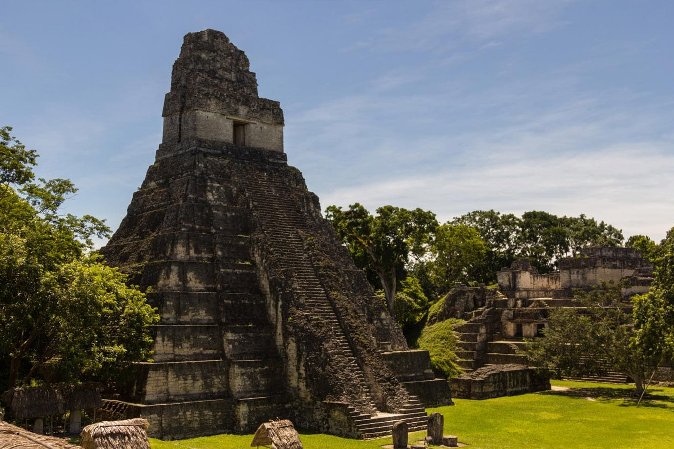 Tikal was once one of the great ancient cities in the world