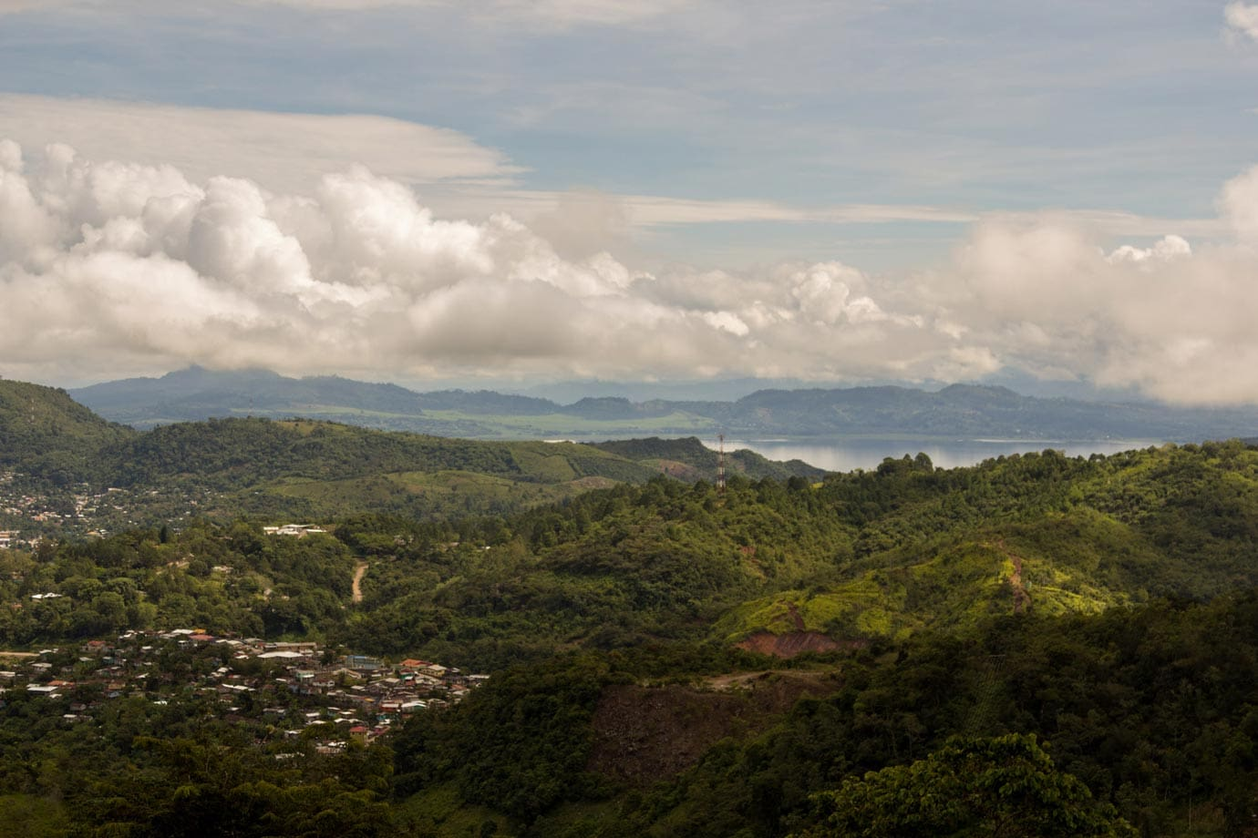 Honduras is great for hiking, and as the name suggests, the Three Waterfalls hike takes in some of the spectacular scenery seen in the surrounding area