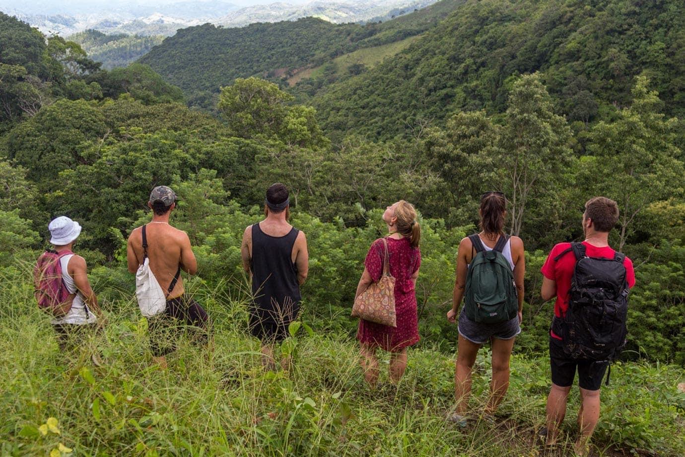 Hiking in Honduras
