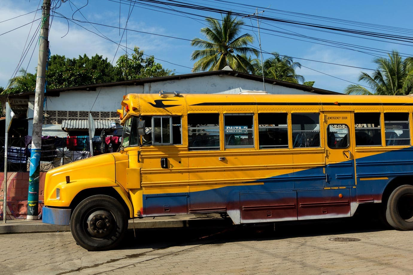 Chicken buses are old American school buses - ©Macca Sherifi