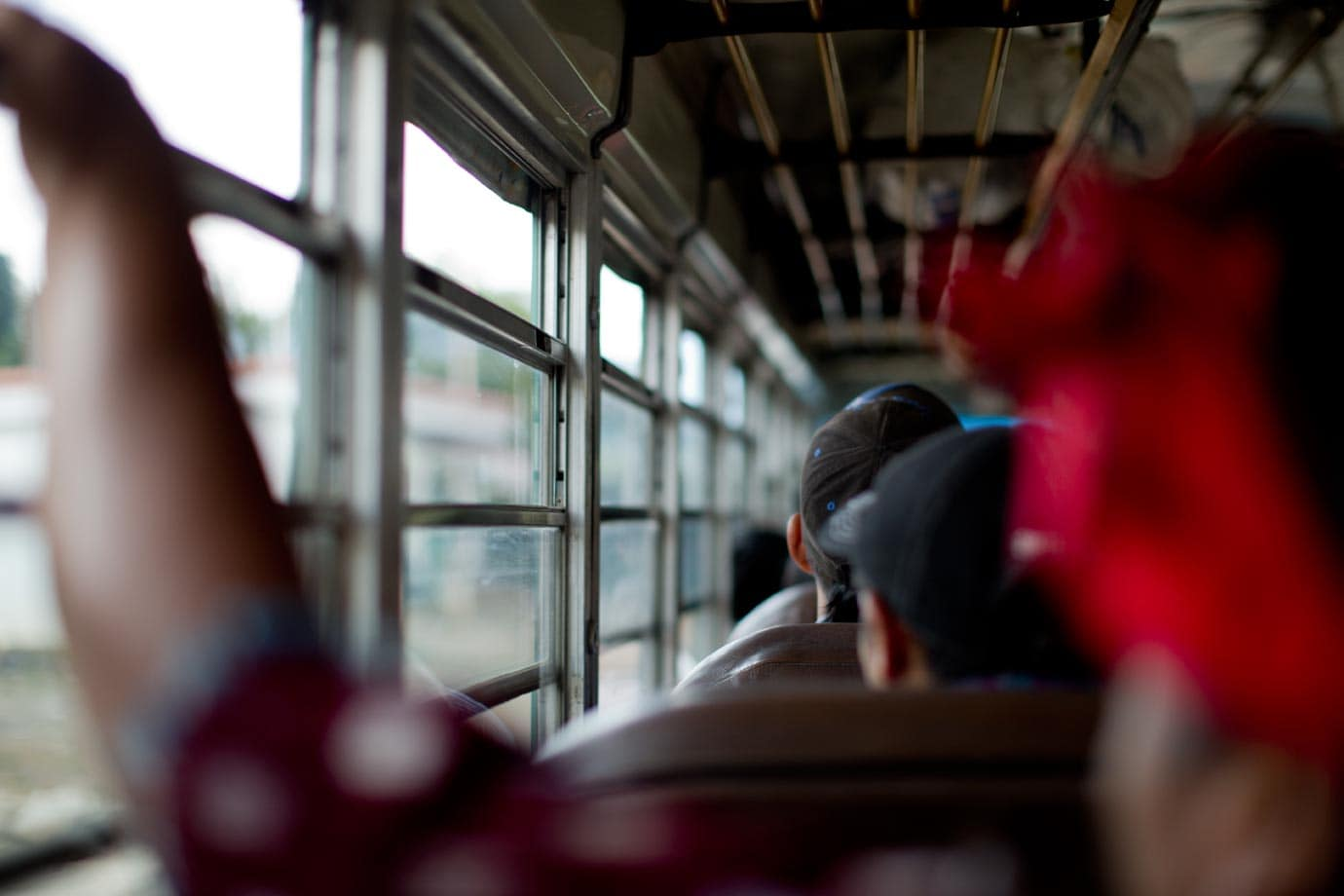 Local transport on the chicken bus - ©Brian Ceci