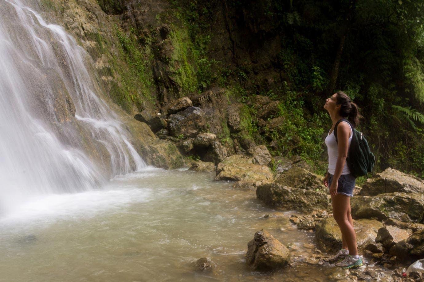 Taking a deep breath in Honduras ©Macca Sherifi