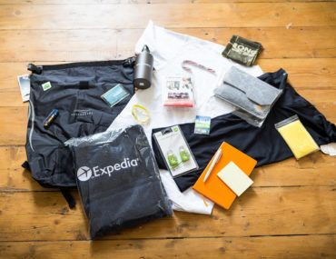 Win a Waterproof Backpack Filled with Goodies