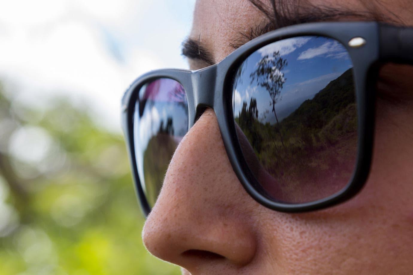 Reflection of Las Pilas
