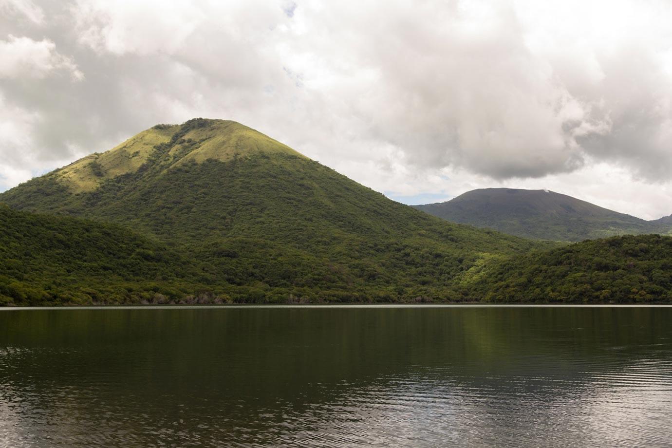 Swimming in Laugna Asosoca, Nicaragua