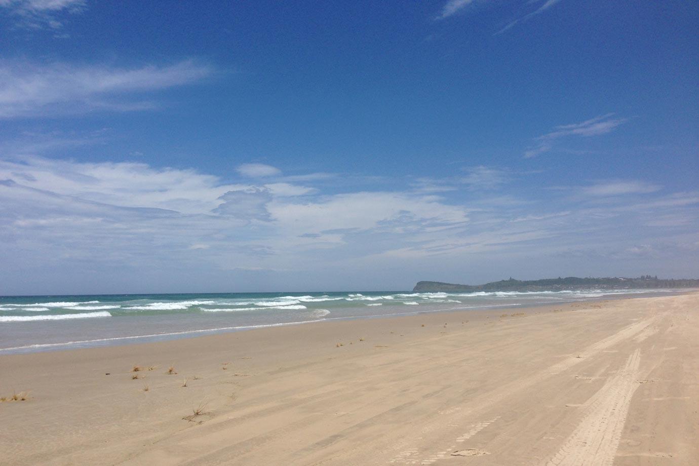 7 Mile Beach, outside of Byron Bay