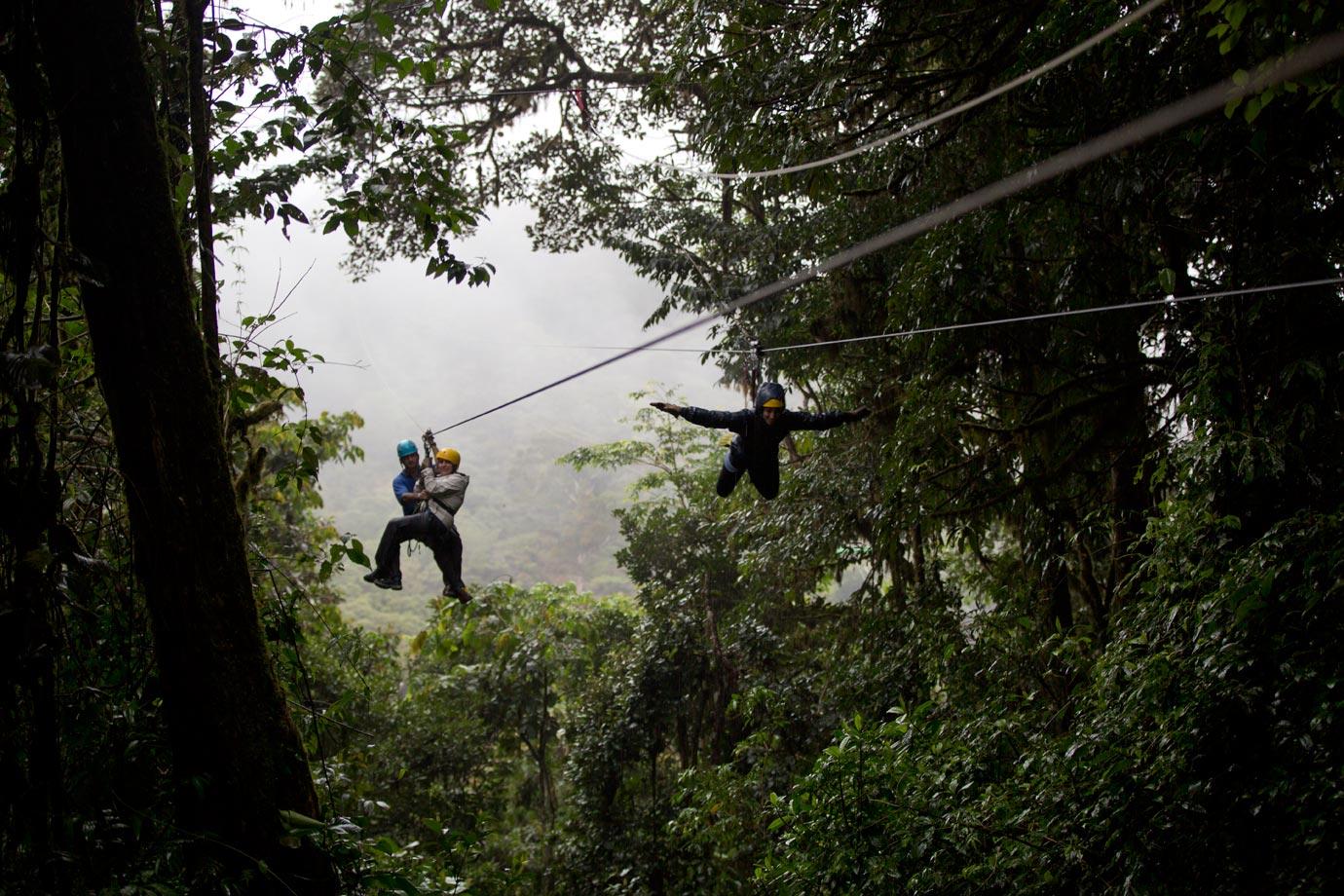 Flying high in Monteverde