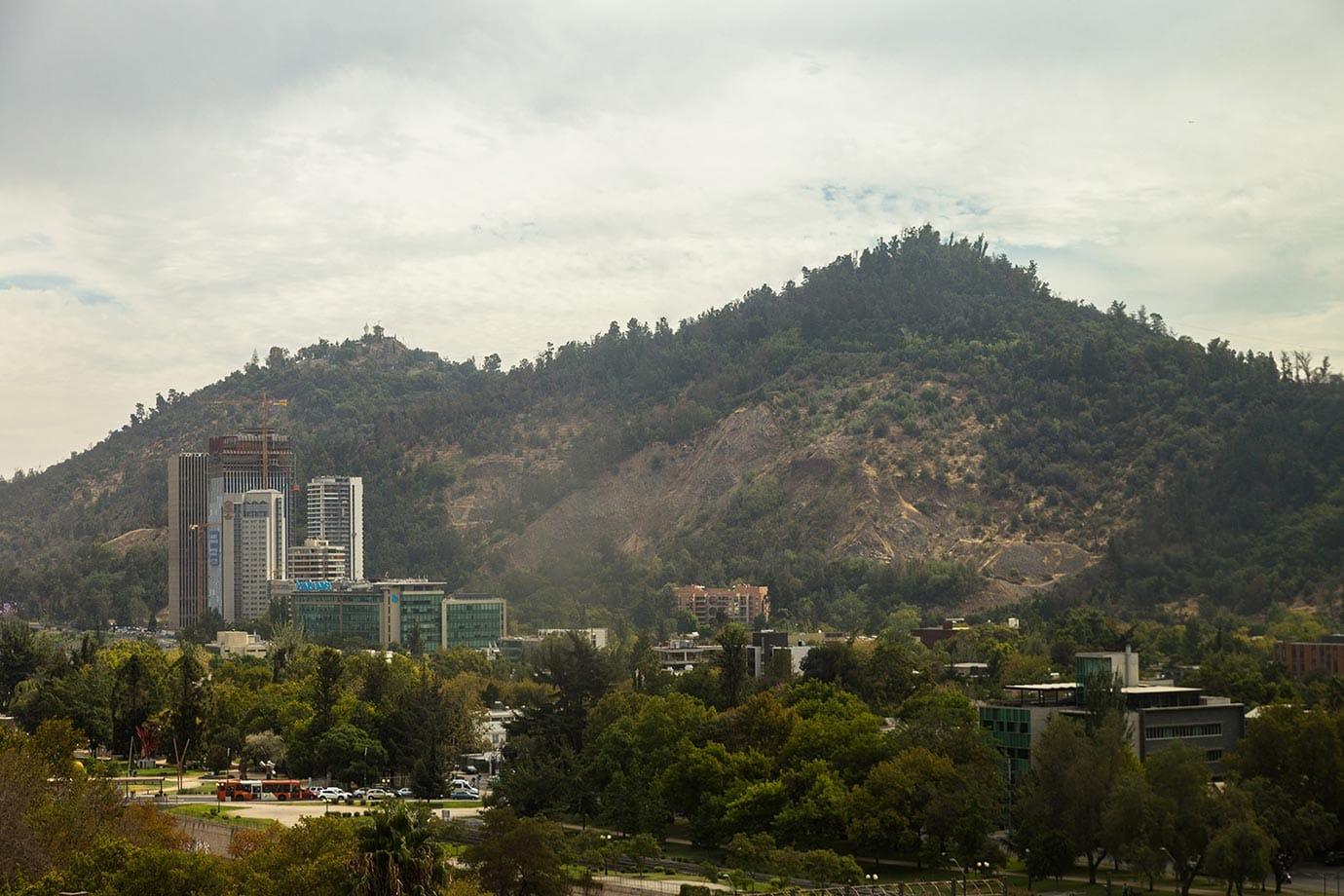 Cerro Concepcion in Santiago
