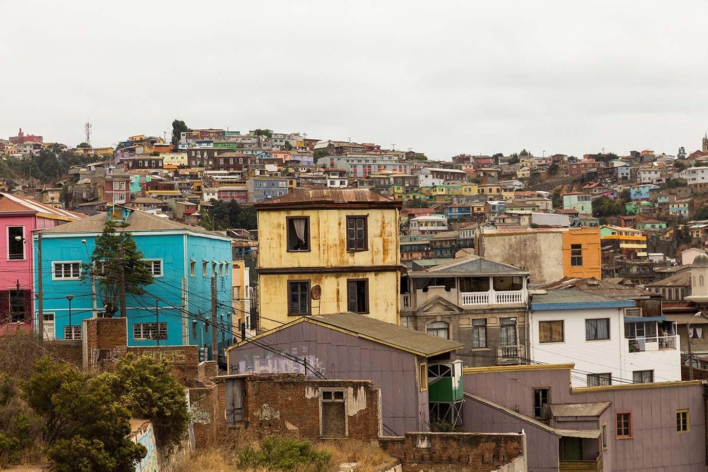 The hills of Valparaiso