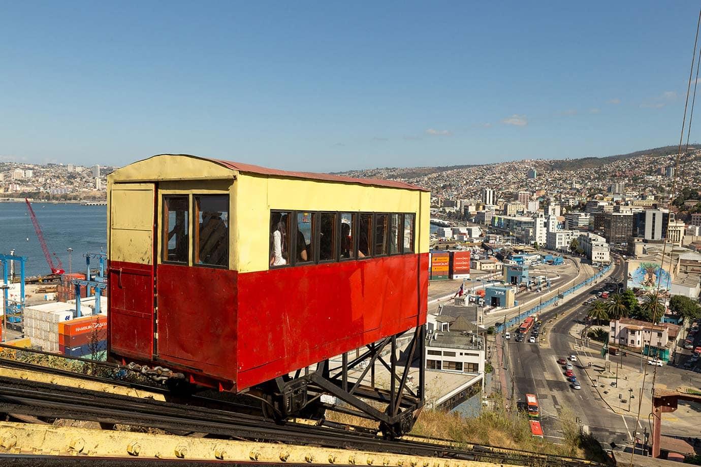 Port funicular, Valparaiso