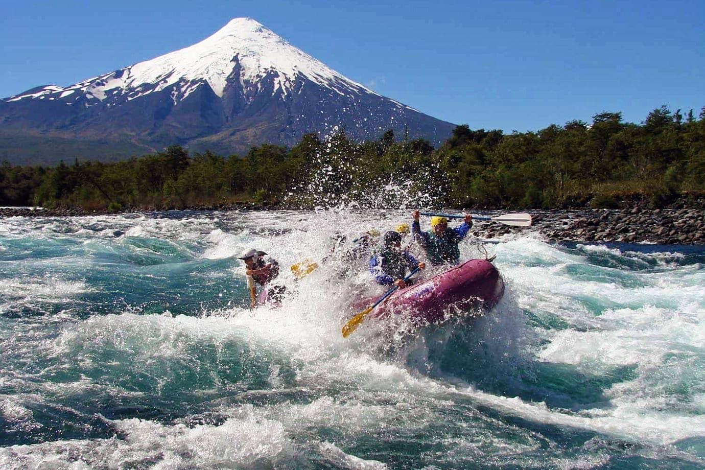Volcano Osorno, Petrohue River, Chile