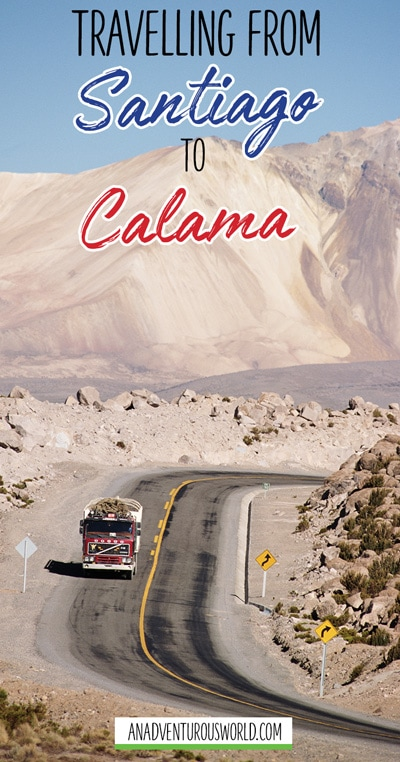 Getting from Santiago to Calama is actually very simple but I thought I'd go into it anyway to help those who don't know what they're doing.