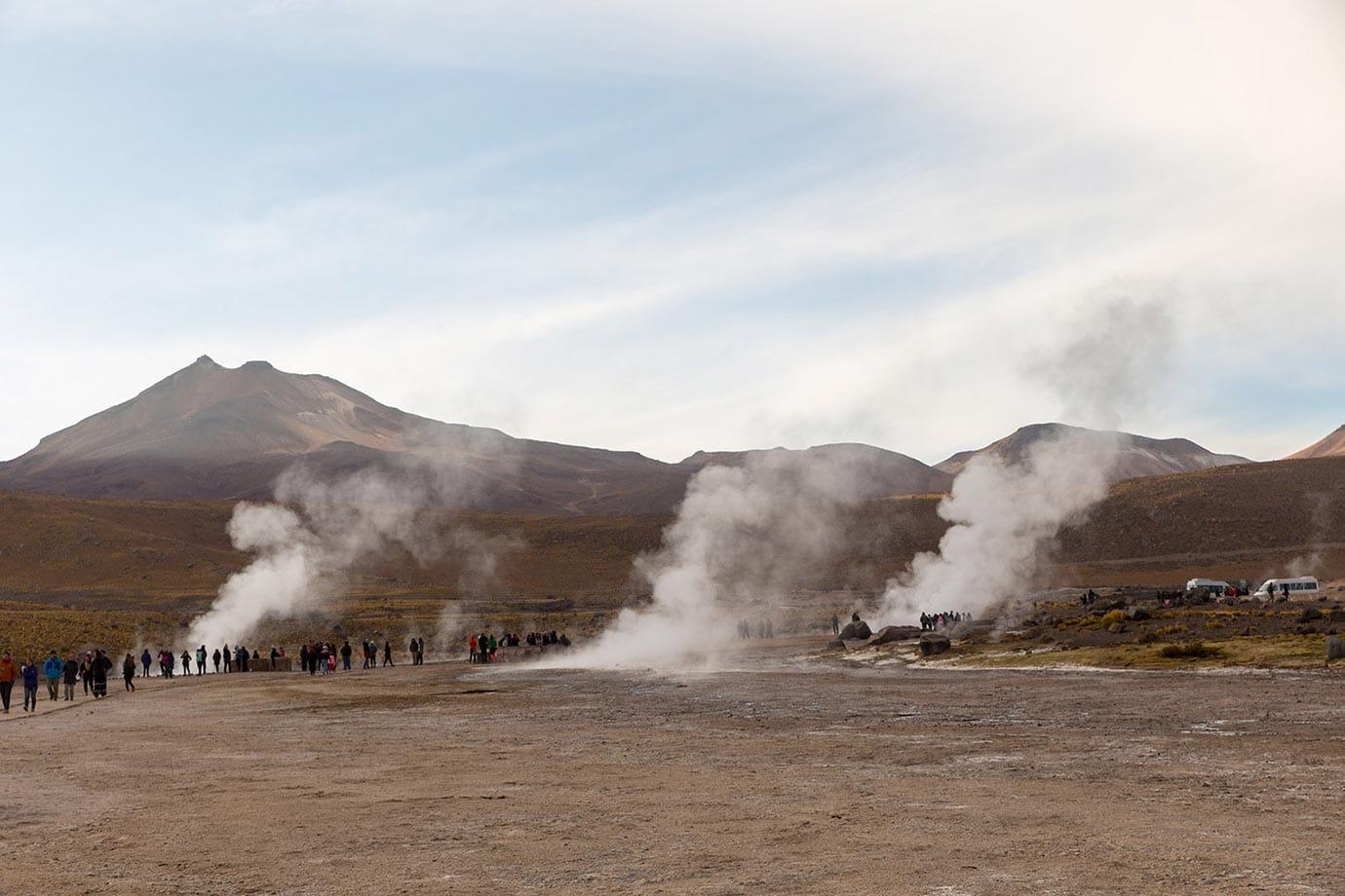El Tatio geyser field, Chile