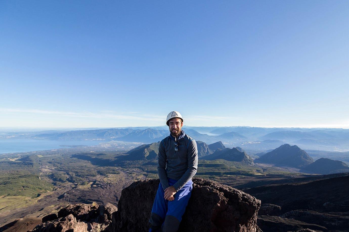 The views at Volcano Villarrica