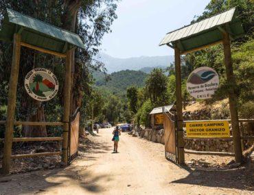 Hiking in Parque Nacional la Campana