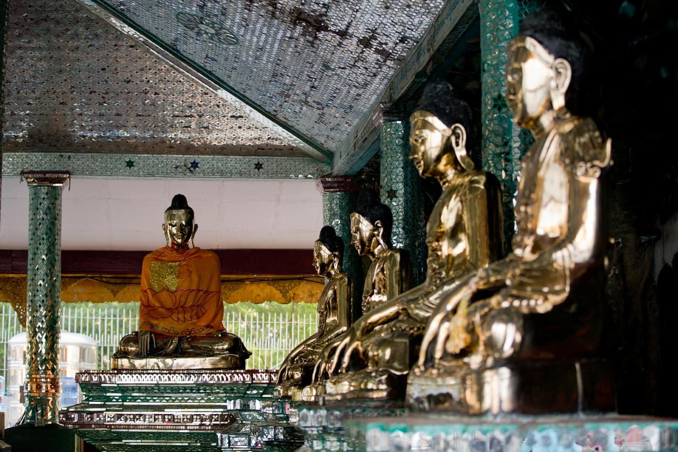 Some of many Buddhas seen in Myanmar - ©Brian Ceci