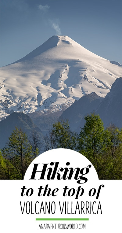 There aren't many places where you can hike to the top of an active volcano, but at Volcano Villarrica you can. It really is one of the best hikes in the world!