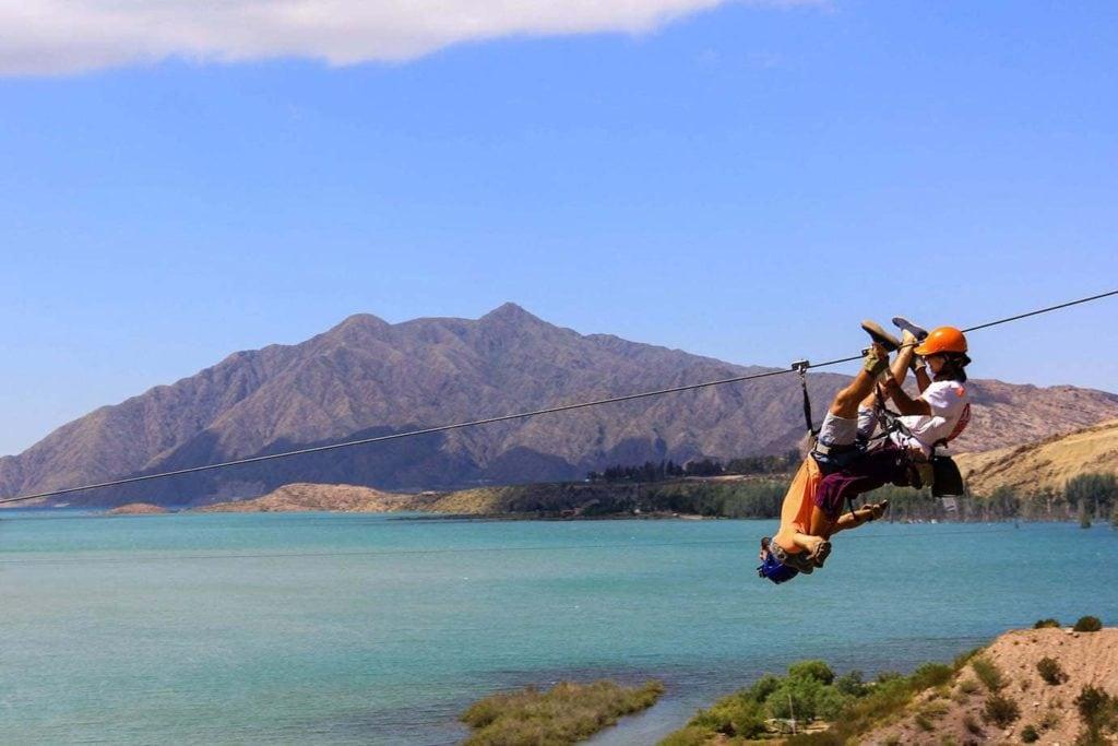 Ziplining in Mendoza