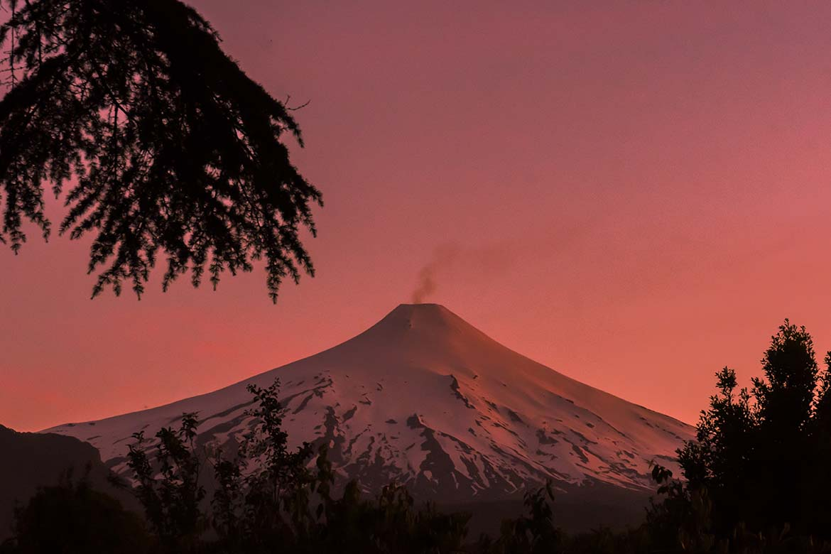 pucon volcano hike