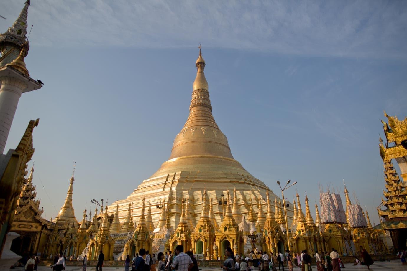 The stunning Schwedagon Pagoda - ©Brianna Wiens